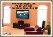 TV Installation Service Richmond