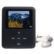 "4GB USB MP4/MP3/ FM/Voice w/1.75"" LCD (Black)"