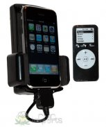 4-1 FM Transmitter** w/Charger/Dock/Remote for iPod/iPhone