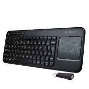 Logitech Wireless Touch Keyboard w/3.5 inchMulti-touch Touchpad
