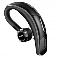 Bluetooth Headset With Mic 180 Rotational Earbud