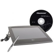"6"" x 8"" Hanvon Painting Master 0806 USB Graphics Tablet w/Cordle"