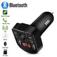 Bluetooth FM Transmitter Hands Free Car Kit MP3 Player