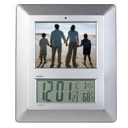 5.6'' LCD Royal PF Clock Digital Picture Frame Clock Temp