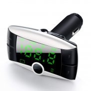 Bluetooth Hands Free FM Transmitter USB Charger SD MP3 Player