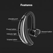 Bluetooth Headset Noise Canceling Earbud Headphone