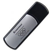 Lenovo 1GB USB 2.0 Flash Drive (Black/Silver)