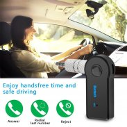 3.5MM Jack AUX Audio MP3 Music Bluetooth Receiver Car Kit