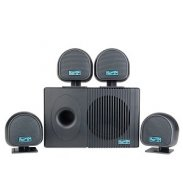 Logisys Hollywood II 4.1 Channel Multimedia PC Speaker System