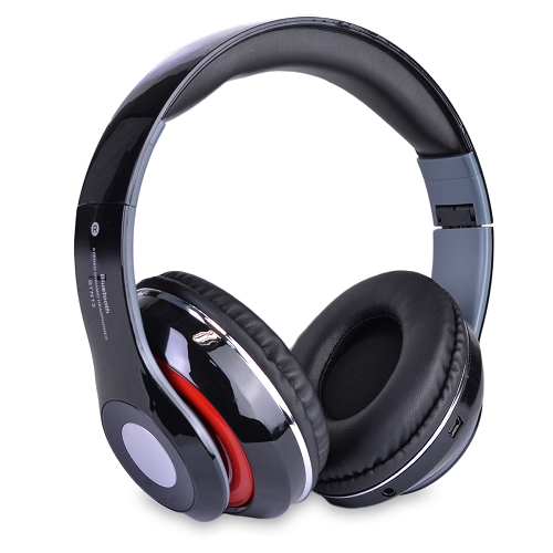 Bluetooth Wireless Foldable On-Ear Headphones w/Mic