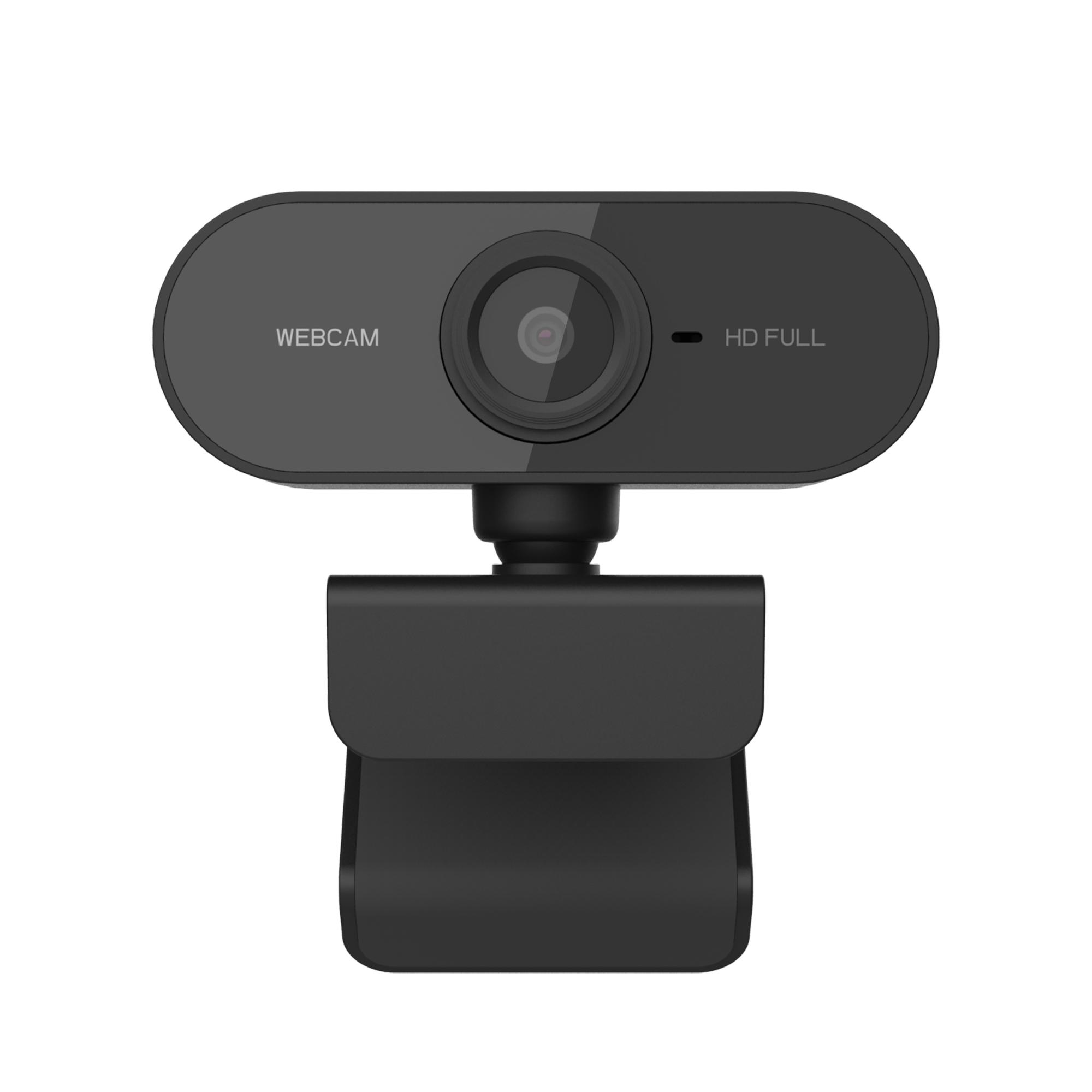 HD Webcam with Mic Rotatable Autofocus USB Web Camera