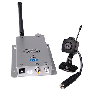 24GHz Mini Wireless Color Camera With Microphone