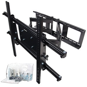 "36""- 70"" Plasma/LCD Articulating TV Wall Mount Bracket (Black)"