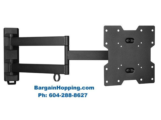 "20"" - 42"" Full Motion Swivel TV Bracket Wall Mount"