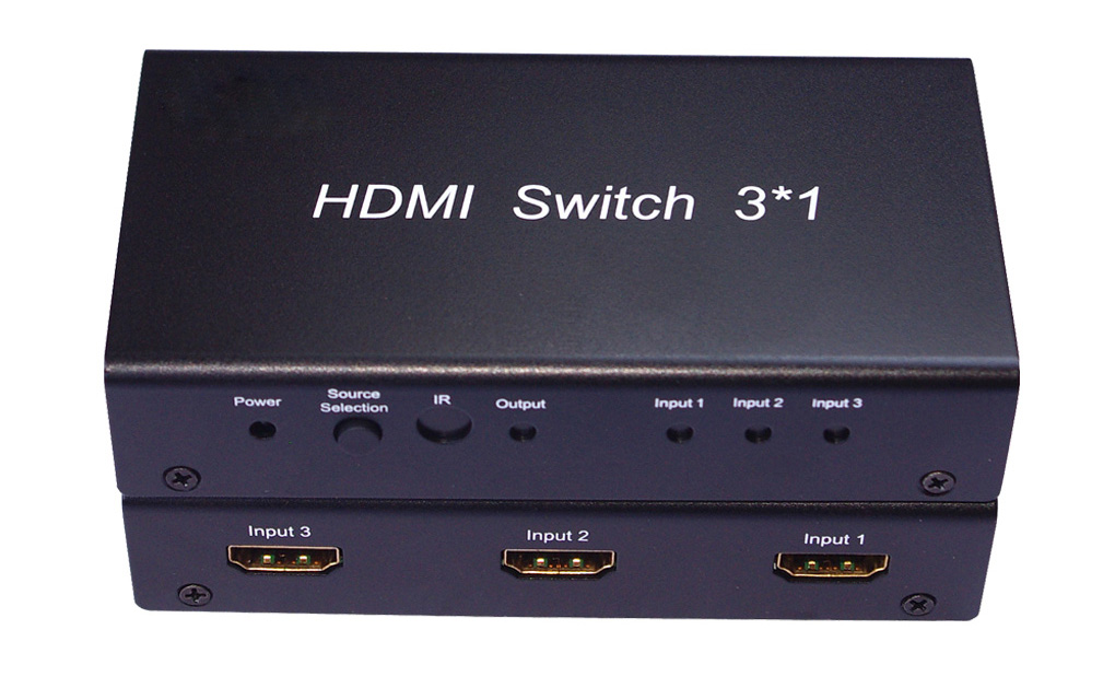 3X1 Mini HDMI Switch w/ Remote