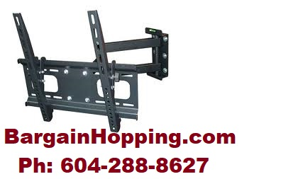 "32""- 47"" Tilt Swivel Full Motion TV Bracket Wall Mount"