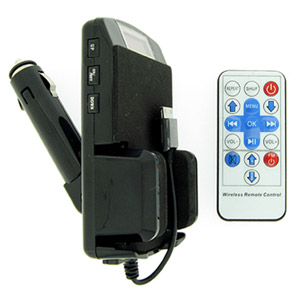 FM Transmitter for iPhone 3G/iPod/ MP3 w/Remote - Connect Your P