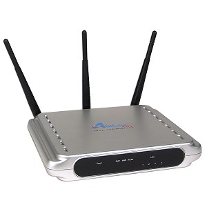 AirLink 101 324Mbps 802.11g MIMO XR Wireless LAN/FireWall 4-Port