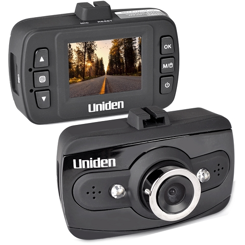 Uniden iWitness 1080p HD Dash Cam 1.5 in Screen 8GB Mem Card