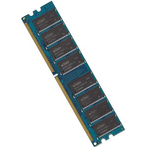 Elixir 1GB DDR RAM PC3200 184-Pin DIMM Major/3rd