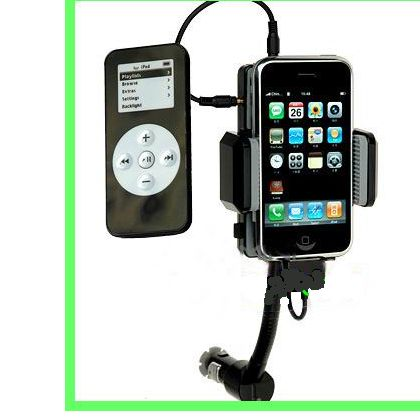 All Kit 5-1 iPod/iPhone/iPhone 3G/iTouch FM Hands-Free w/Remote