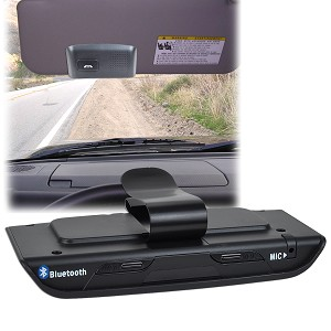 Bluetooth v2.0 Hands-Free Car Visor Kit
