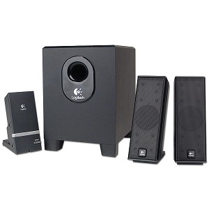 Logitech 2.1 Channel Multimedia Speaker System w/iPod Cradle