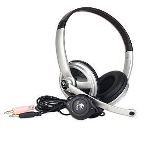 Logitech ClearChat Premium PC Stereo Headphones w/Boom Microphon