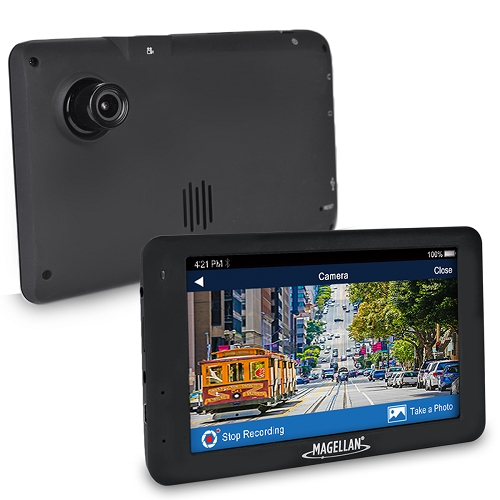 "Magellan GPS + Full HD Dash Cam Combo 5"" w/North American Maps"