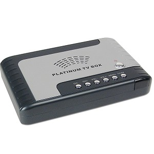 Stand Alone LCD Platinum TV Tuner Box w/Remote & PiP