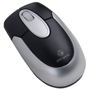 Targus 3-Button Wireless Optical Notebook Scroll Wheel Mouse
