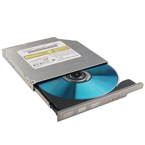 Toshiba 8x DVD±RW Notebook Drive (Silver)