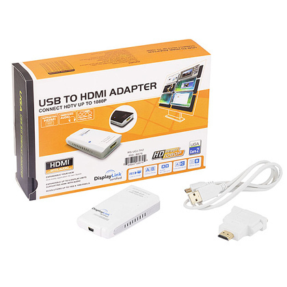 -USB 2.0 to HDMI Display Adapter w/ Audio (1920 x 1080)