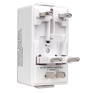 Universal Worldwide AC Travel Power Adapter