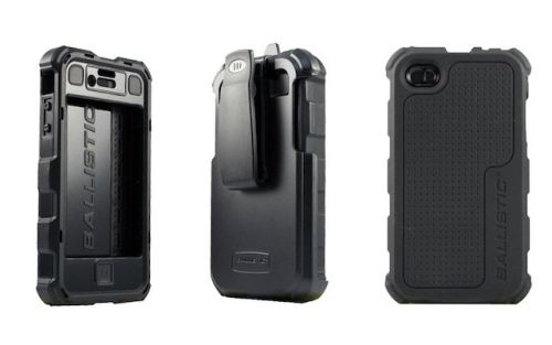 Ballistic Case For iPhone 4/4S With Belt Clip