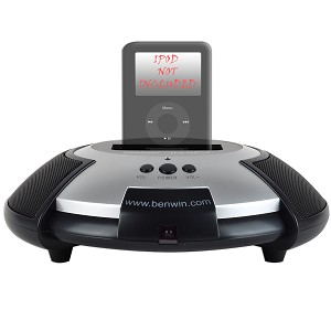 Benwin iChoice Dock and Speakers w/Remote for iPod & iPhone