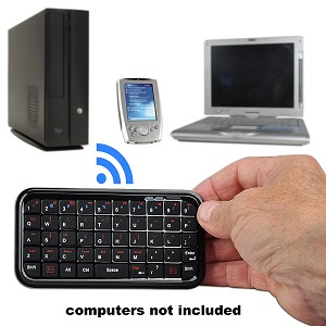 iTon 49-Key Bluetooth v2.0 Wireless Mini Keyboard for iPad, iPho