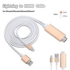 Lightning to HDMI Adapter Cable iPhone To HDMI AV Cable