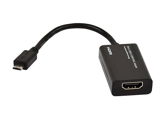 Micro USB to HDMI MHL Adapter - Black