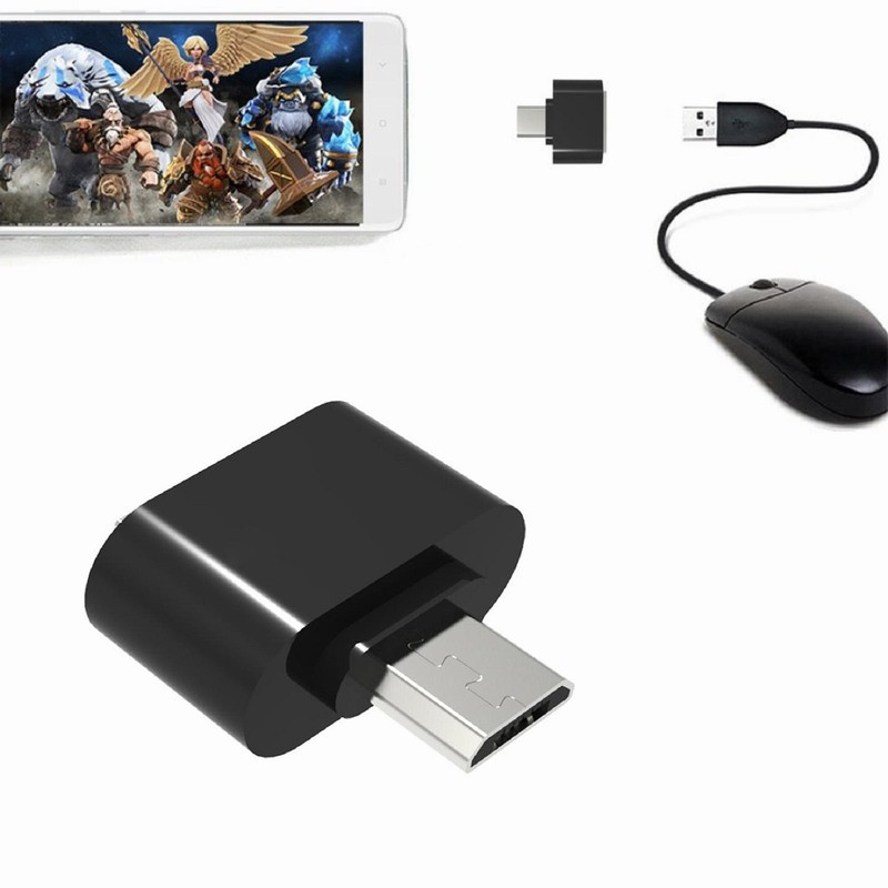 Micro USB to USB2.0 Expansion OTG Adapter