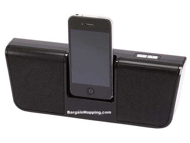 Portable Speaker Dock for iPhone & iPod