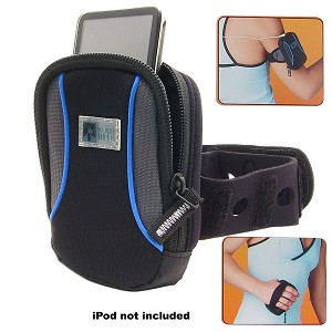 Case Logic Neoprene Case for iPod/MP3 Player w/Pocketed Sport Be