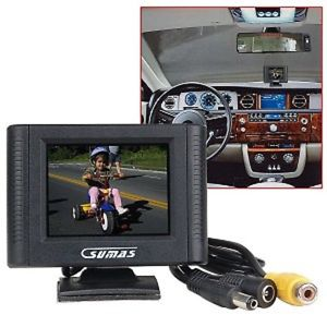 "2.5"" Sumas Media Combo Car Rearview Monitor With Camera"