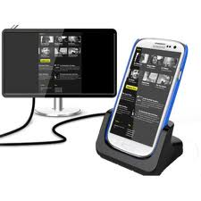 CaseDuo HDTV Media Dock for Samsung Galaxy SIII - Black
