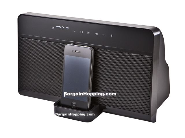 Speaker Dock w/ Touch Panel Controls & Remote for all iPhone & i