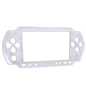 PSP Replacement Faceplate + Buttons (Transparent)