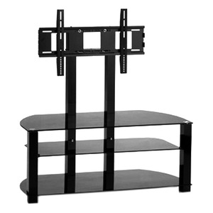 "* 32-60"" Universal TV AV Entertainment Stand with Integrated TV"